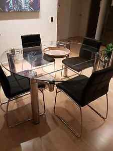 Dining Table and Chairs Newcastle Newcastle Area Preview