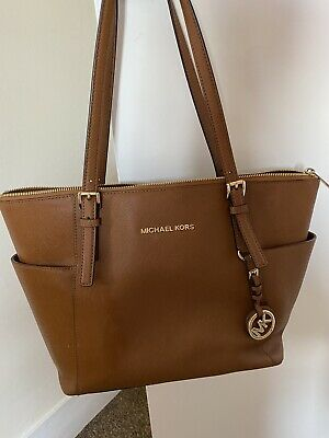 Michael Kors Tan Tote Bag