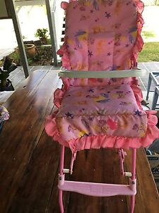 Folding dolly high chair Chelmer Brisbane South West Preview