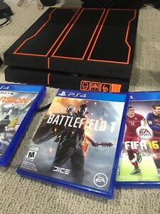 PS4 Black ops 3 Edition with 3 games