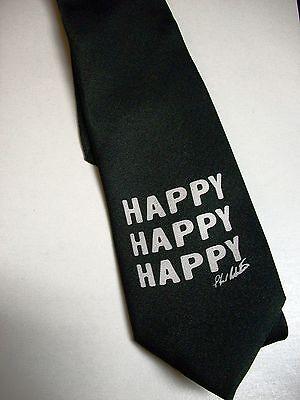 Duck Dynasty Phil Happy Happy Happy black  Tie
