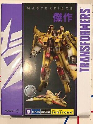 Transformers Masterpiece MP-05 Sunstorm FREE SHIP!