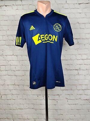 Football shirt soccer FC Ajax Amsterdam Away 2010/2011 Adidas jersey Holland S image
