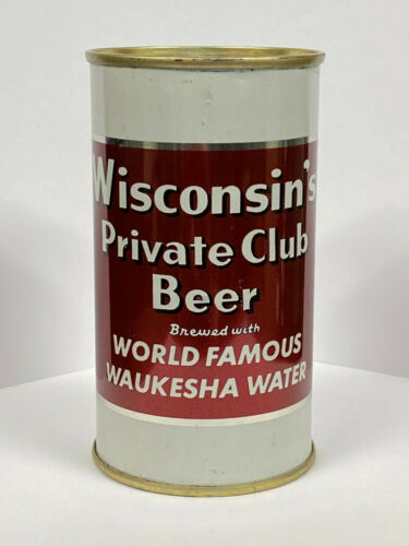 Wisconsin Private Club Beer - Spring City Brewing Waukesha, WI USBC 146-33