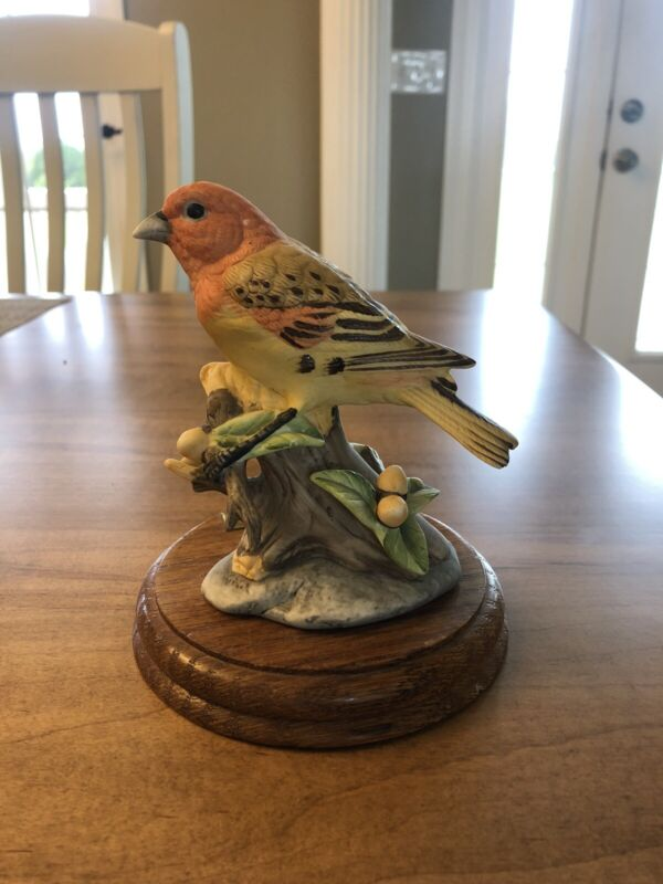 Aldon Greater Koa Finch Extinct Bird Limited Edition 1,784 Out Of 15,000