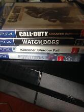 PS4 Console,  Two Controllers, and Four Games Morningside Brisbane South East Preview