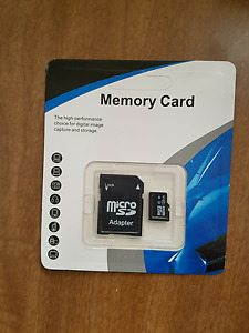 128 gb micro usb card with adapter (Class 10)