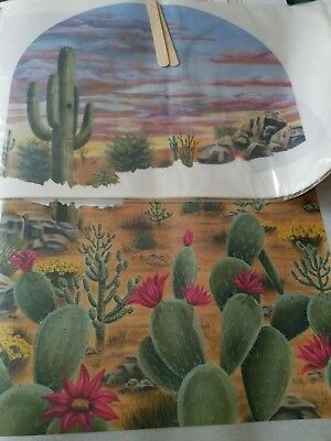 Tatouage Southwest Window Dry rub Transfer 2 sheets