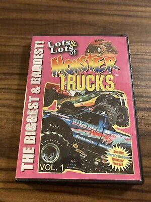 Lots  Lots of Monster Trucks, Vol. 1 (DVD, 2008) FAMILY FUN