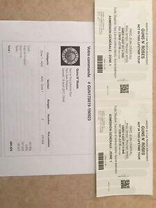 Billet pour spectacle de Guns' N Roses