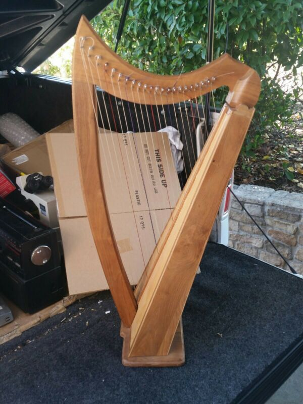 Handmade Harp Portable Beautiful Harp 22 string hand made Peter richardson