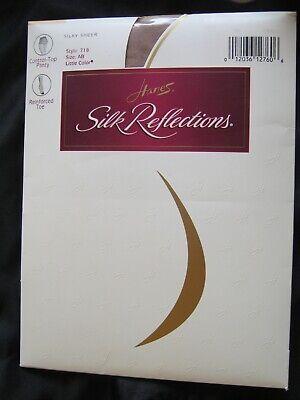 - Hanes Silk Reflections Pantyhose Little Color Size AB Sheer Leg Control Top 718
