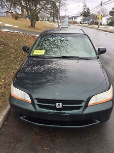 2000 HONDA ACCORD WITH NEW INSPECTION