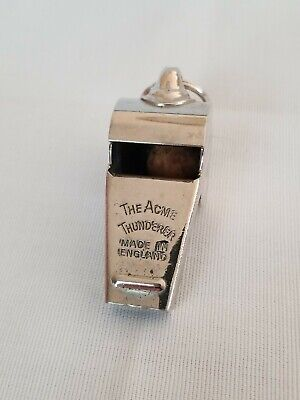 The ACME THUNDERER Whistle Cork ball made in England, Vintage