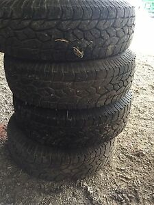 215/75R15 tires with rims