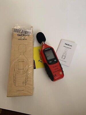 Mini Sound Lever Meter Digital Noise Decibel Pressure Monitor Db Tester Measure