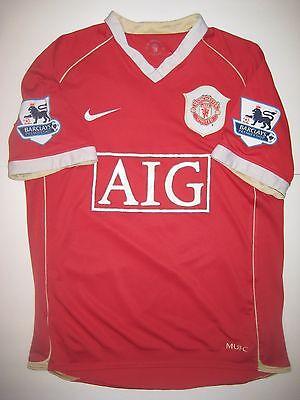 Manchester United Cristiano Ronaldo Nike Kit Jersey 2006 Real Madrid Portugal