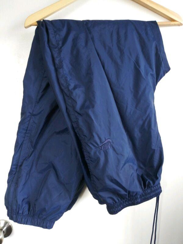 Vintage 90s Nike Windreaker Pants Nylon Mens XXL White tag