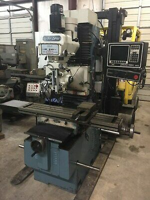 Southwestern Industries Prototrak Dpm 3-axis Dro Bed Mill 1996 With Tooling