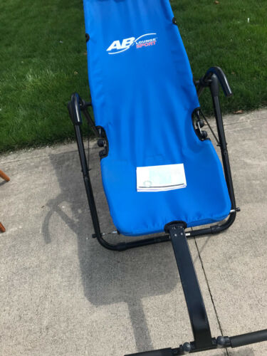 AB Lounge Sport Abdominal Workout Fitness Exercise Blue Lounger pick up only