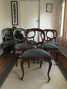 Antique Balloon Back Chairs Goombungee Toowoomba Surrounds Preview