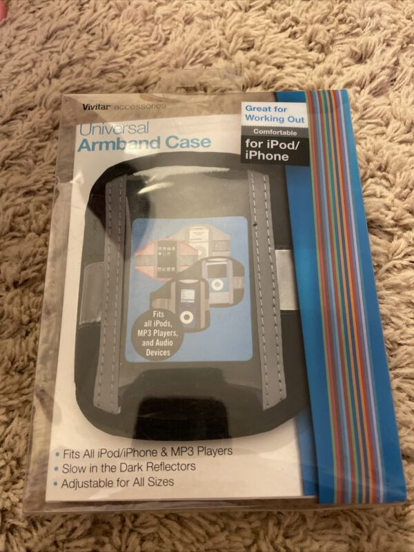 VIVITAR UNIVERSAL ARMBAND CASE FOR IPOD IPHONE FREE USA SHIPPING