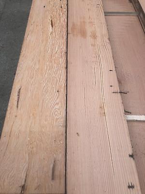 Reclaimed 8-10 Inch Wide Rustic Resawn Victorian Pine Flooring Cladding Board WR