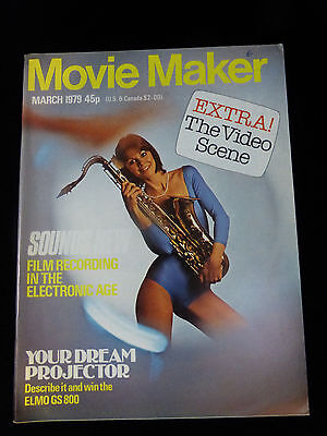 Movie Maker Magazine  March 1979  Like New