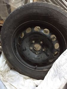 Nokian WINTER tires and rims 215/60/R16