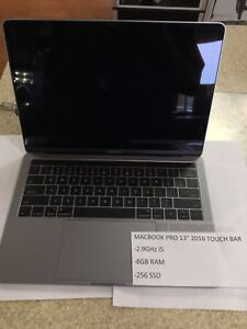 "APPLE LAPTOP MACBOOK PRO 13"" 2016"