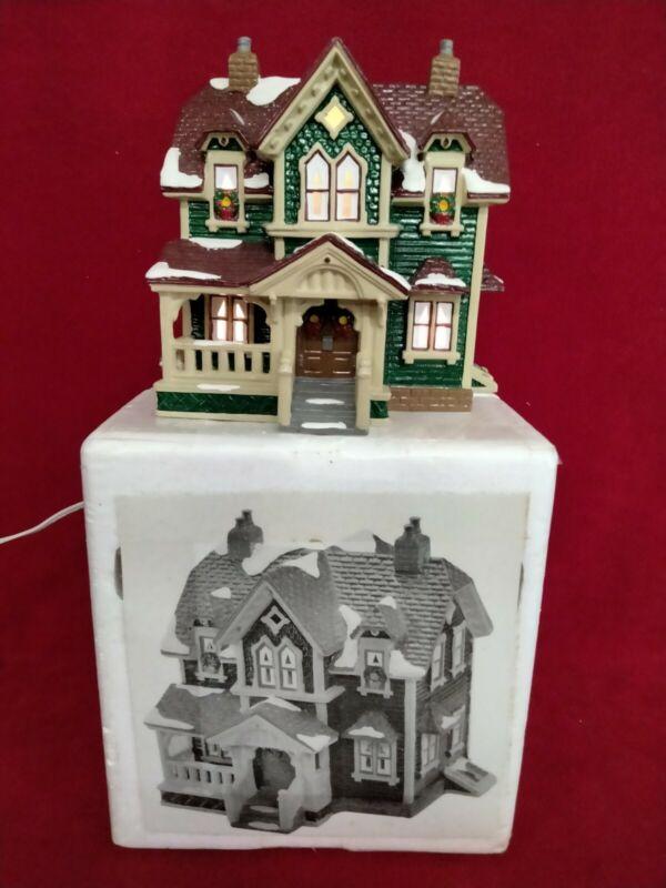 """Departmebt 56 Snow Village """"Hartford House""""  #5426-7.  1992"""