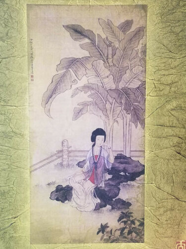 A Chinese antique paintings on paper