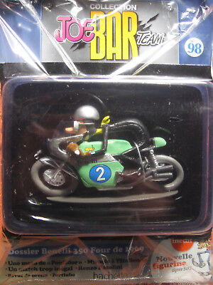 Joe Bar Collection Magazin Nr.98 Benelli 350 Four exclusif in Folie 1:18 Comic