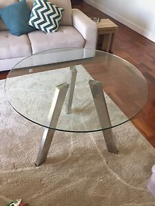 Small glass Domayne Dining Table East Brisbane Brisbane South East Preview