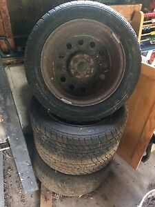 4 x Motomaster SE All Season Tires (with rims) For Sale