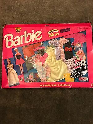 10 Piece Barbie Fashion Gift Set - 1992 Mattel Toys (3 separate sets)