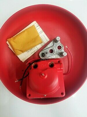 New Simplex 2901-9322 Vibrating Bell With 10 Gong Red Pn 624-858