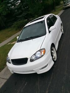 2006 Toyota Corolla  6-spd XRS Sport FULLY LOADED