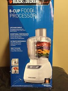 Food Processor-Black & Decker (as pictured)
