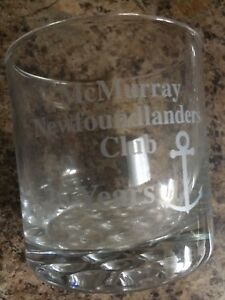 Newfoundland Club Glasses