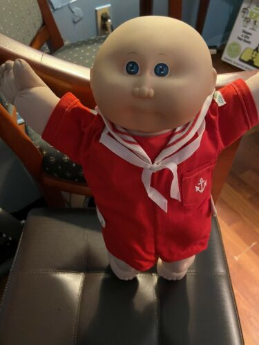 Vintage Cabbage Patch Kids 1978 1982 PA-1044 Red White Outfit 15 Doll  - $17.99