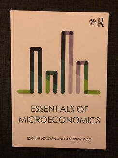 Textbook microeconomics seventh edition textbooks gumtree essentials of microeconomics crows nest north sydney area preview fandeluxe Image collections