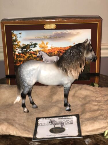 "Breyer 2017 Premier Club ""Duende"" Dappled Gray Andalusian"
