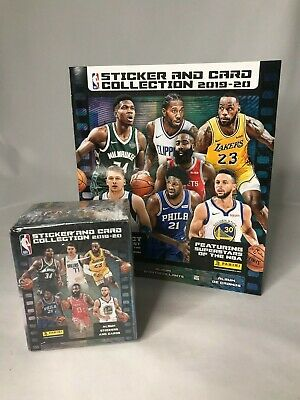 Usado, 🔥2019-20 Panini NBA Sticker & Card Collection (50 Pk.) Sealed Box w. 1 Album🔥 comprar usado  Enviando para Brazil