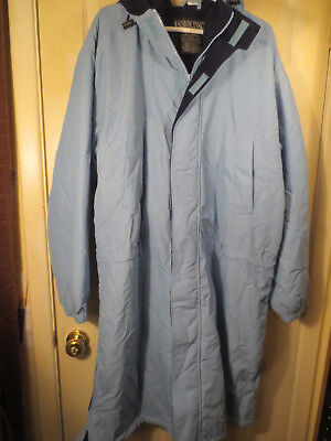 Tennessee Titans Nfl End - NFL Tennessee Titans LAND'S END Jacket Over Coat Size XL 46-48