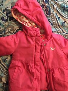 Girls Size 24 Months Winter Coat