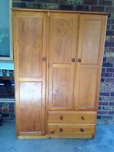 Pine wood wardrobe Bayswater Knox Area Preview