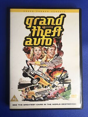 Grand Theft Auto (DVD, 2008) Great Condition Free Post