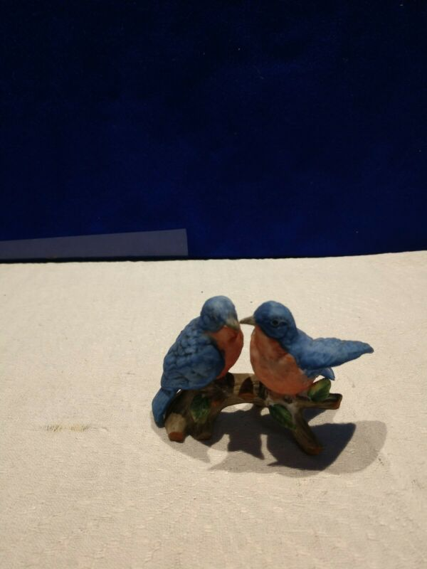 Vintage Ceramic Bluebirds