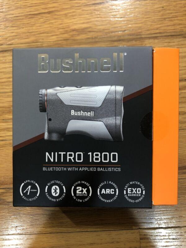 New Bushnell Nitro 1800 Laser Rangefinder, 6x24mm, Gun Metal Gray